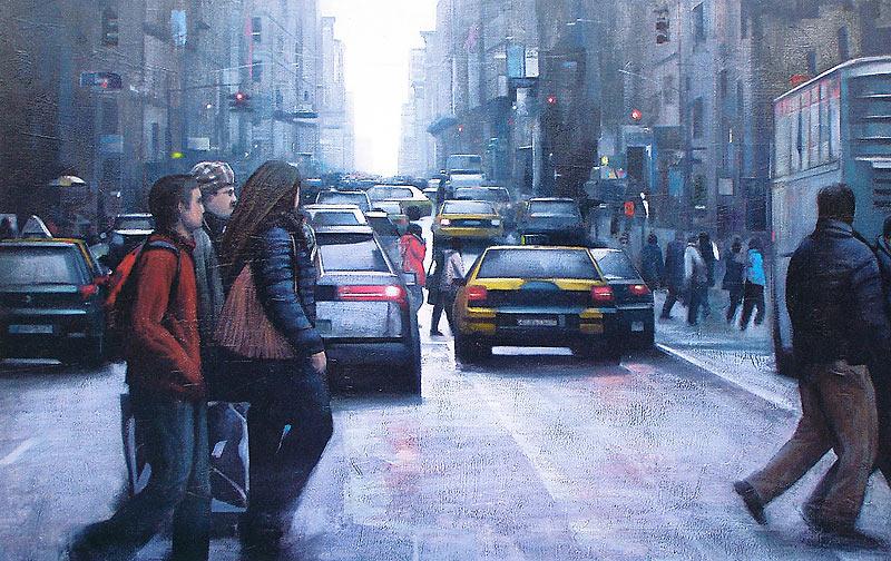 Francisco Javier Sanz Plaza - Óleo - 146x97 cm