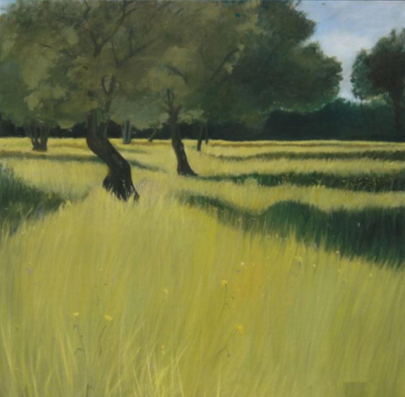 Juan Sánchez Salguero - Óleo sobre lienzo - 120x120 cm