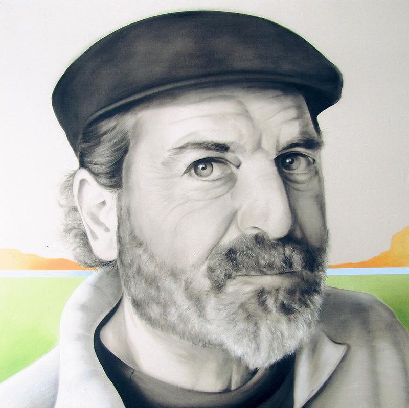 Martín Forés Sanz - Pintura vinílica sobre tela - 120x120 cm