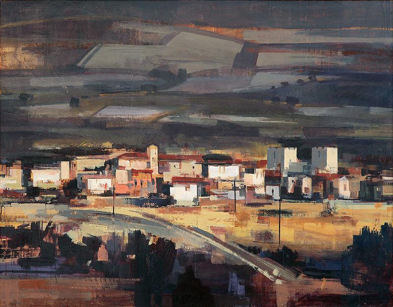 Carmen de la Fuente Aibar - Acrílico sobre lienzo - 147x125 cm