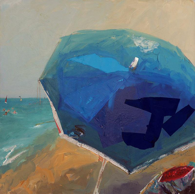 José Manuel Albarrán Pino - Mixta sobre tela - 150x150 cm