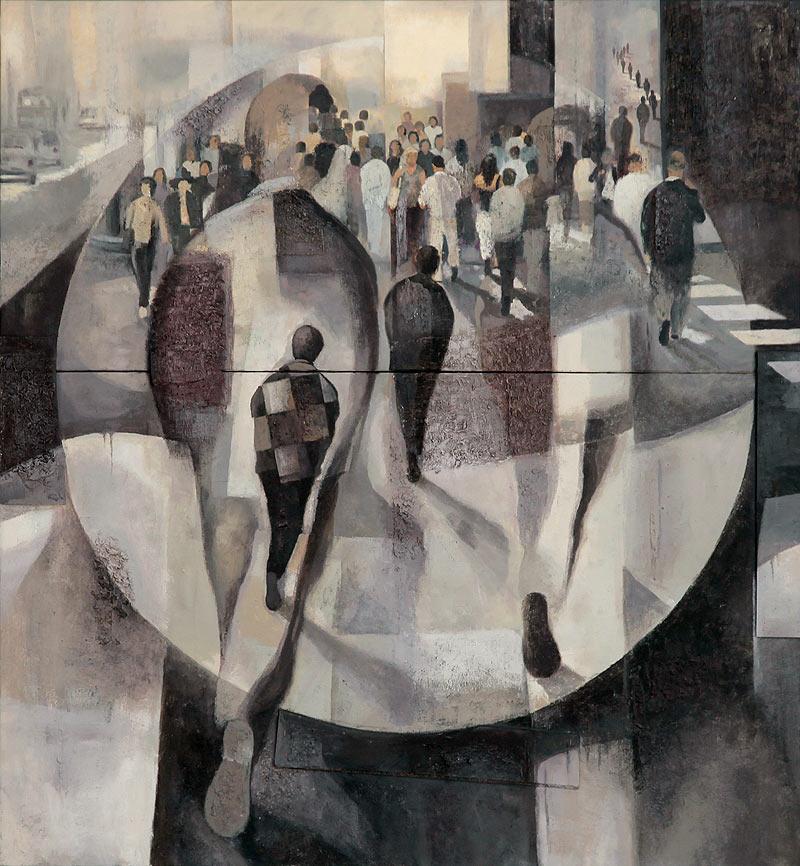 Manuel Molano López - Mixta sobre lienzo - 141x130 cm