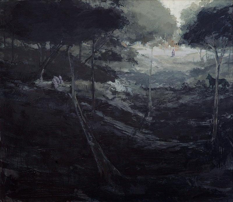 Guillermo Ferri Soler - Acrílico sobre tabla - 140x122 cm