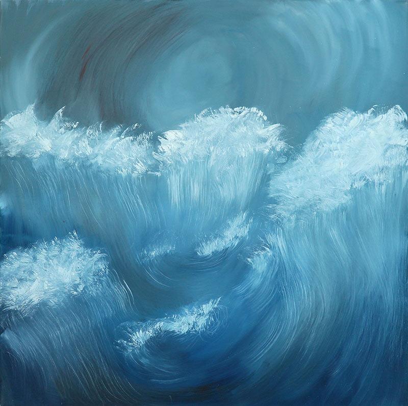 Esther Aragón Serrano - Óleo sobre lienzo - 100x100 cm
