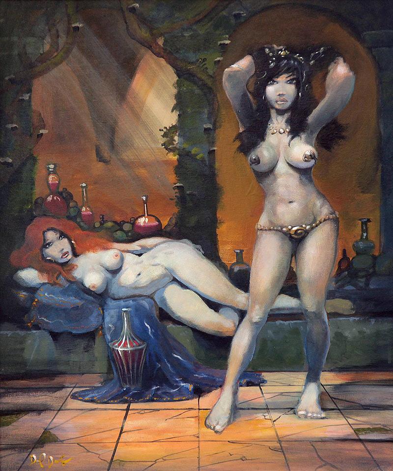 Daniel Darío Hinchado - Acrílico sobre lienzo - 61x50 cm