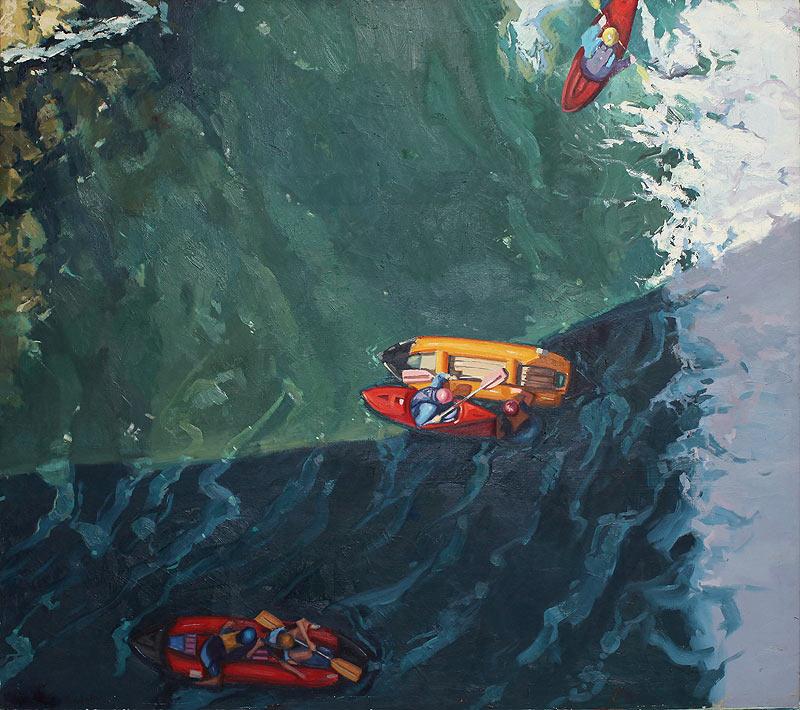 Miguel Ángel Ferrandiz Revuelto - Óleo - 150x130 cm