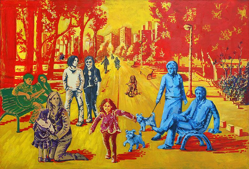 Adoración Fernández Merino - Acrílico sobre lienzo - 148x103 cm