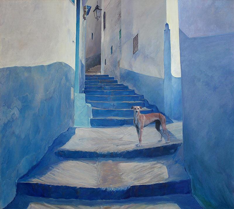 José Antonio Hinojos Morales - Óleo sobre tela - 146x130 cm