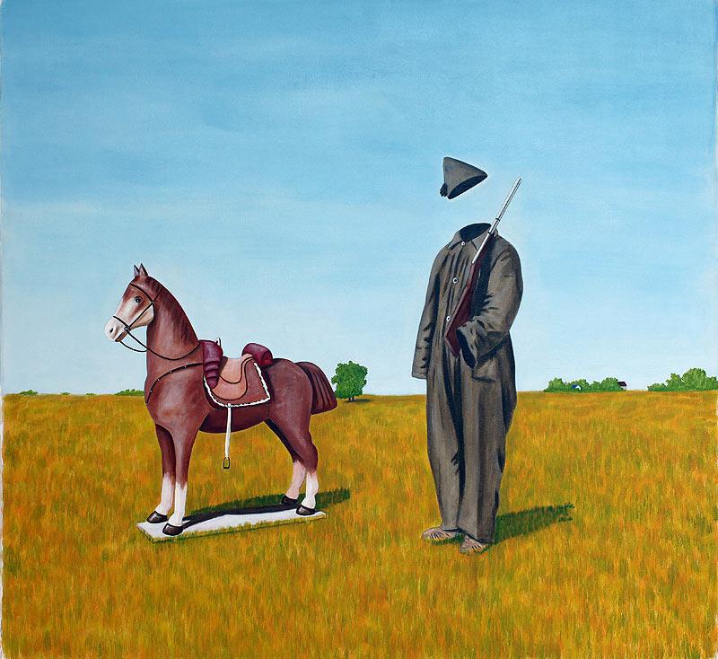 Mauricio Oscar Vergara - Acrílico sobre tela - 150x150 cm