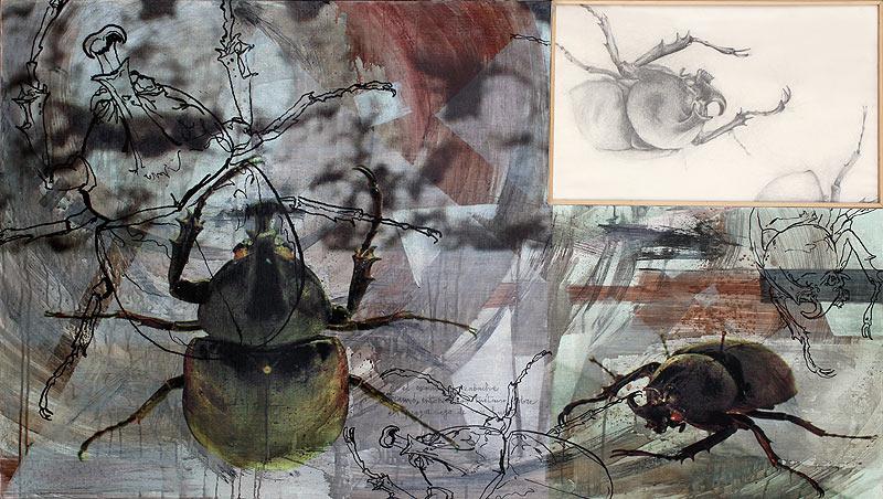 José Ignacio Lobato Aguirre - Mixta sobre madera - 150x92,5 cm