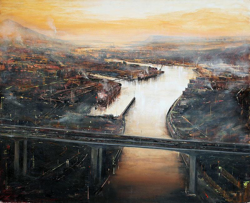 José Abel Sánchez Gómez - Mixta - 140x120 cm