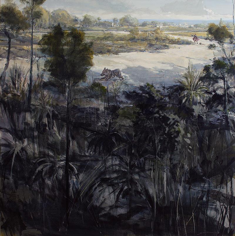 Guillermo Ferri Soler - Acrílico sobre tabla - 150x150 cm
