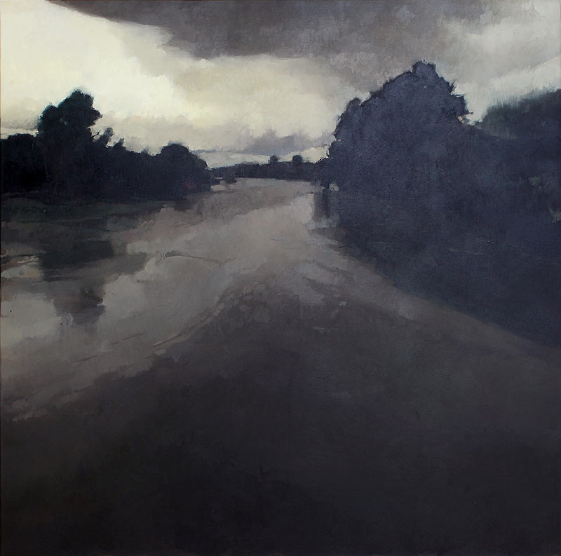 Francisco Escalera González - Mixta sobre lienzo - 146x146 cm