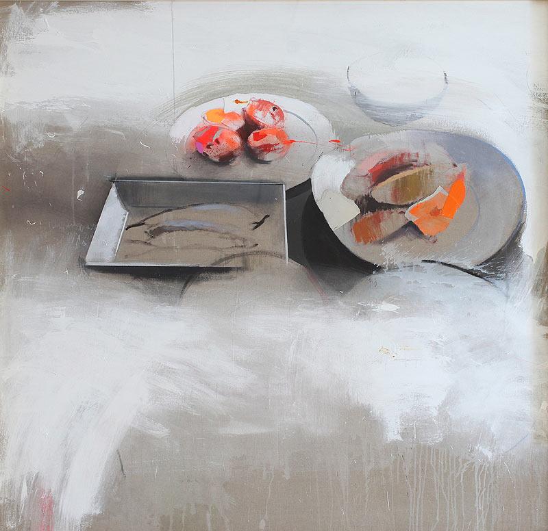 Francisco Javier Mora Ramírez - Mixta sobre lino encolado a tabla - 150x150 cm