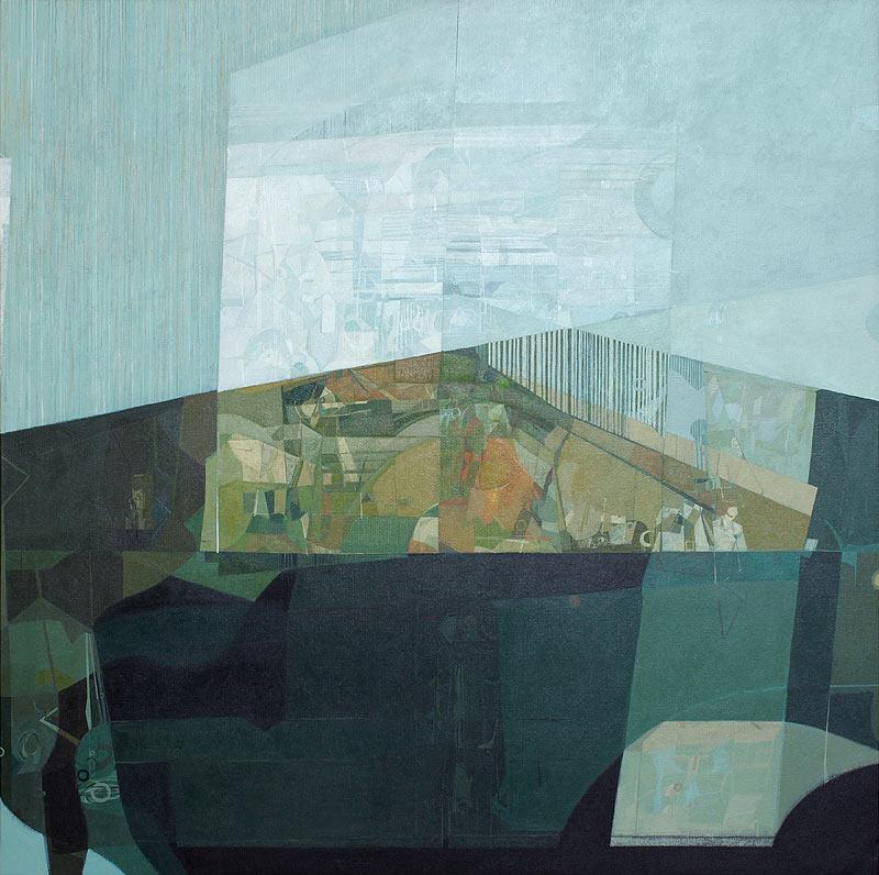 Rui Tavares - Acrílico sobre lienzo - 140x140 cm
