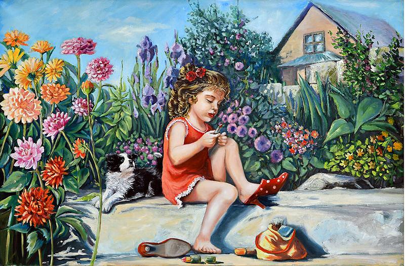 Adoración Fernández Merino - Óleo sobre tela - 120x80 cm