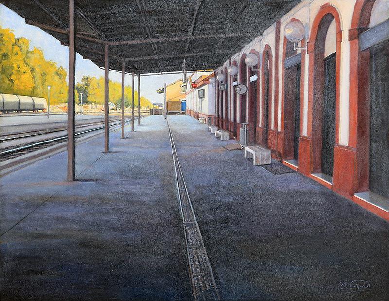 Juan Sánchez Salguero - Mixta - 146x114 cm
