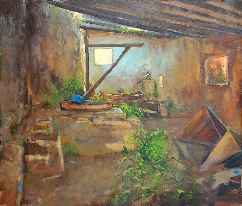David Noalia - Óleo sobre lienzo - 150x130 cm
