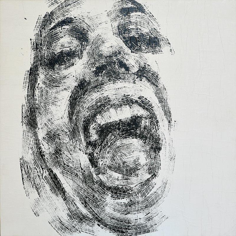 Melchor Balsera Maldonado - Mixta sobre tabla - 110x110 cm