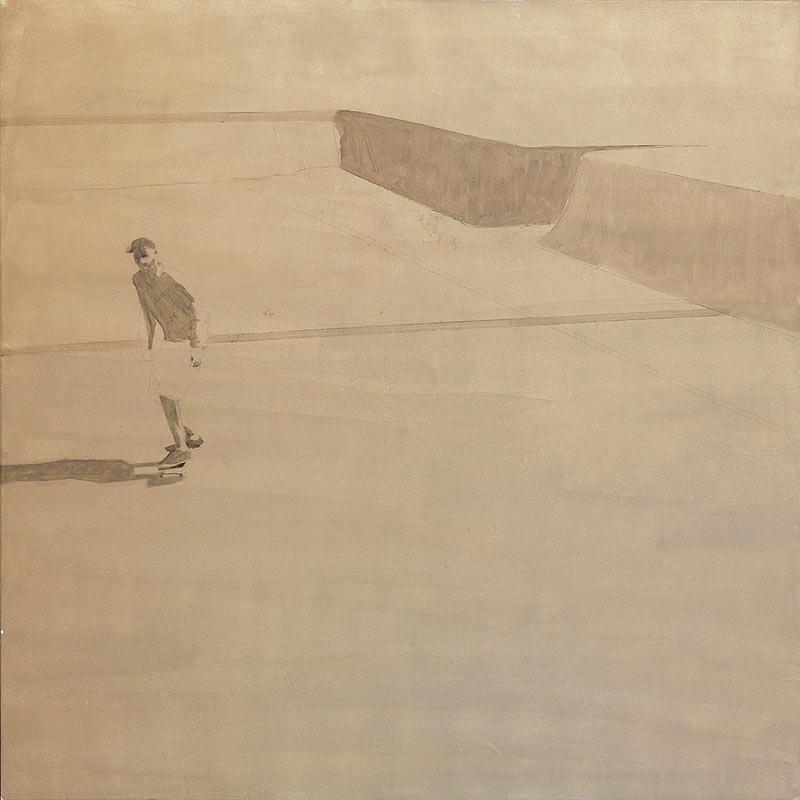 Manuel Enrique Ramírez Vega - Mixta sobre lienzo - 147x147 cm