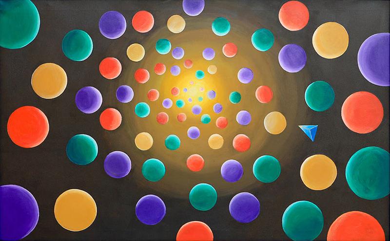 Eulalia Tello Díaz - Mixta sobre tela - 130x81 cm