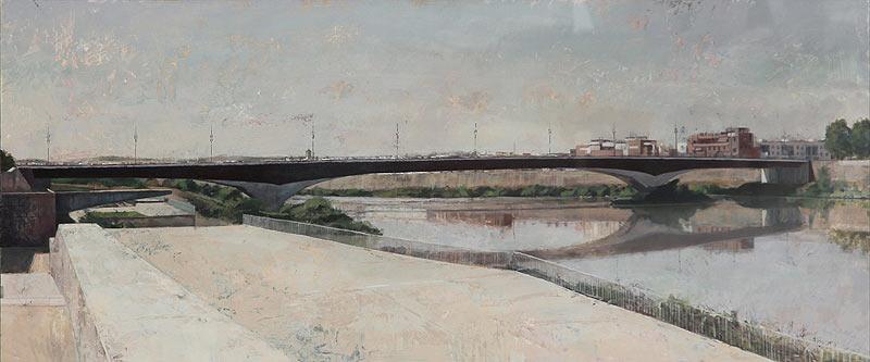 Francisco Vera Muñoz - Mixta - 122x55 cm