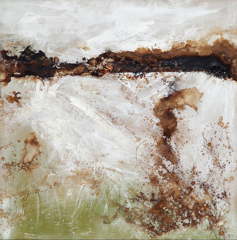 Ismael Alabado Rodríguez - Técnica mixta - 100x100 cm