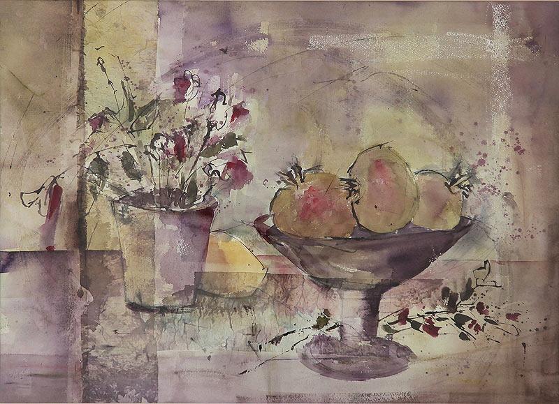 Petra Galán Berrocal - Acuarela sobre papel - 55x75 cm