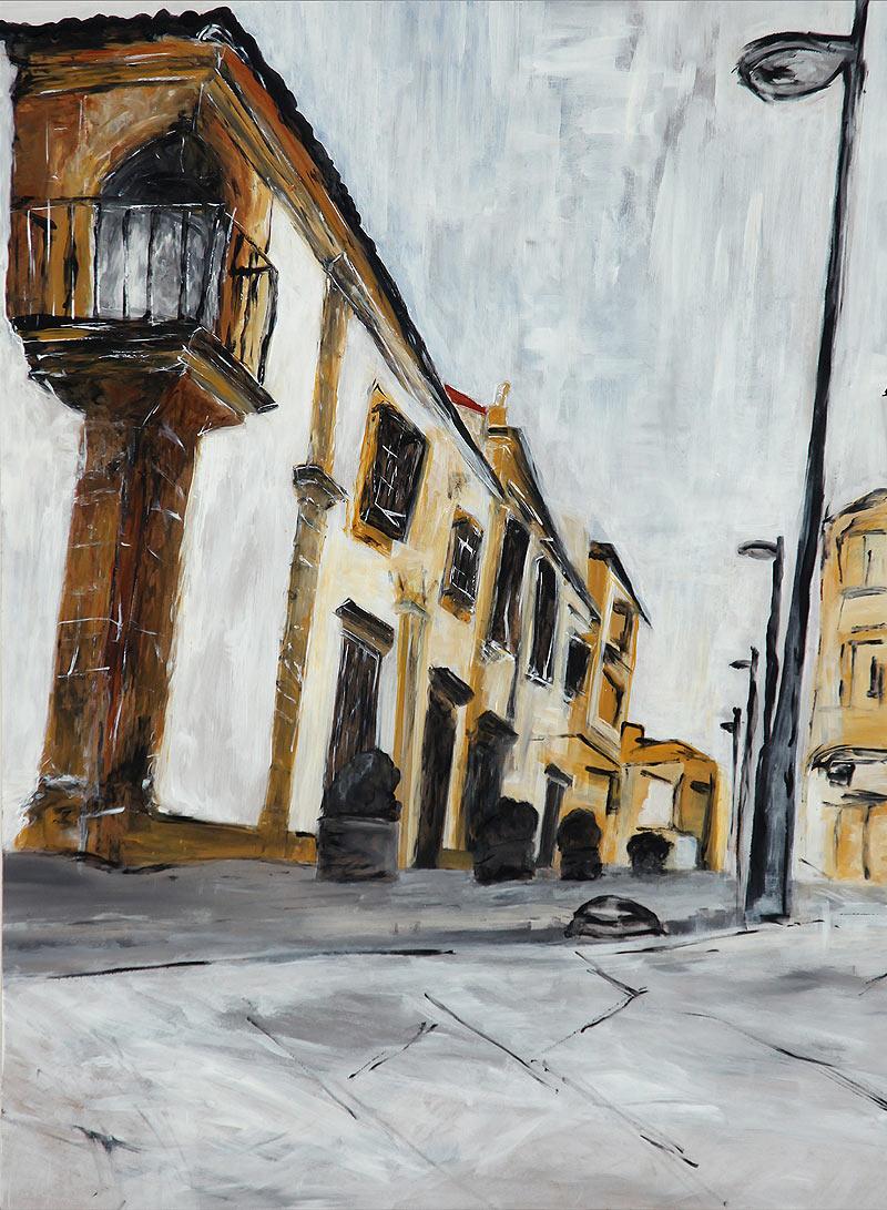 Inmaculada Sánchez Leandro - Óleo sobre tabla - 122x90 cm