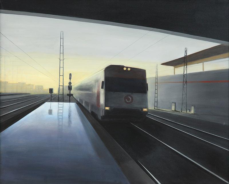 Juan Sánchez Salguero - Óleo sobre lienzo - 119x96 cm