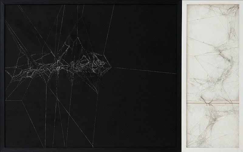 Josefa Sauté Ripoll - Acrílico y esgrafiado sobre lienzo - 100x161 cm