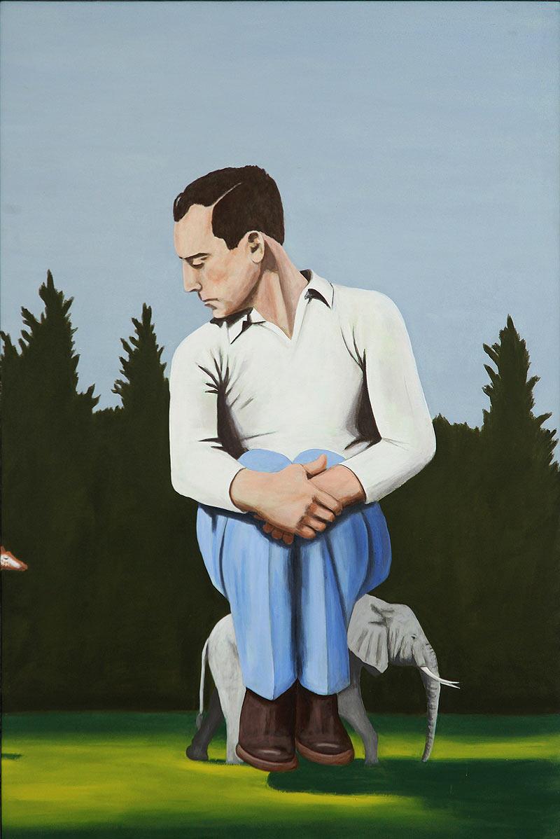 Mauricio Oscar Vergara - Acrílico sobre tela - 150x100 cm