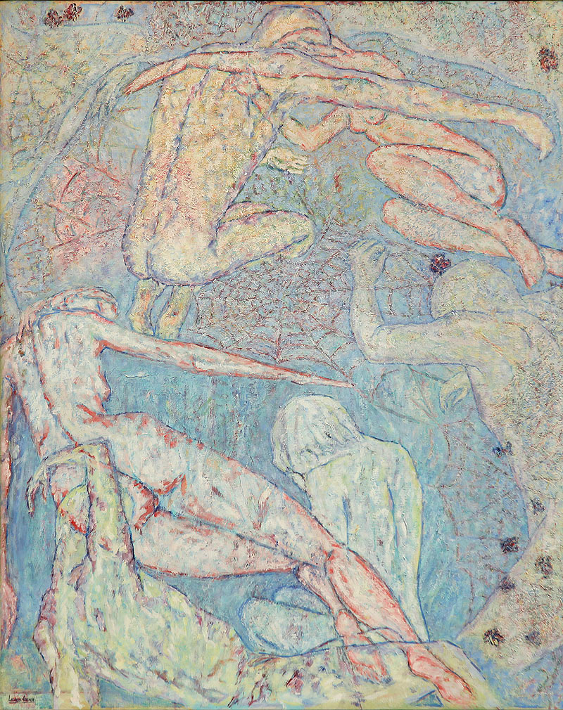 Mª Lourdes Arteaga Moreno - Óleo sobre lienzo - 80x100 cm