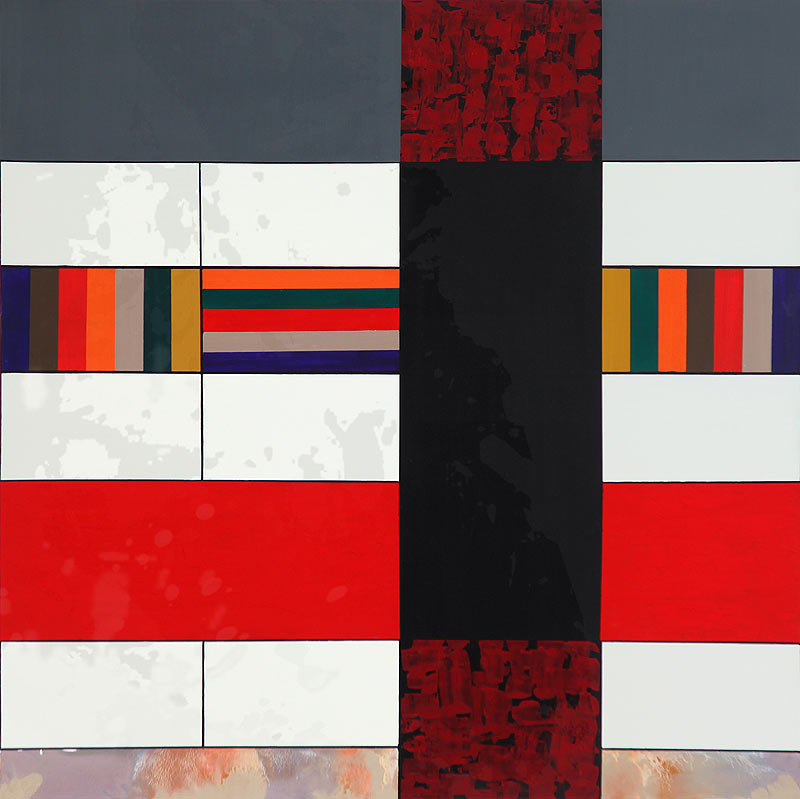 Felipe Boizas Hernández - Acrílico sobre lienzo - 150x150 cm
