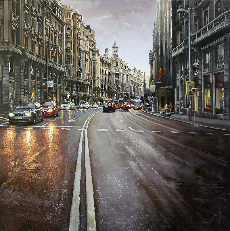 José Raúl Gil Rodríguez - Óleo sobre lienzo - 150x150 cm