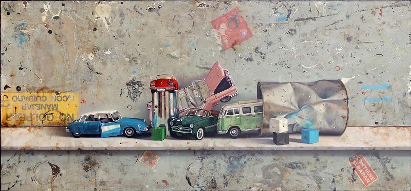 Composición coches (desguace)