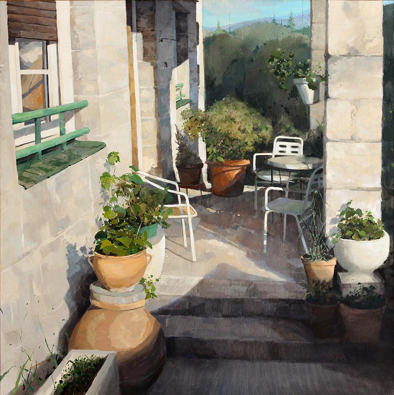 El patio de Cercedilla