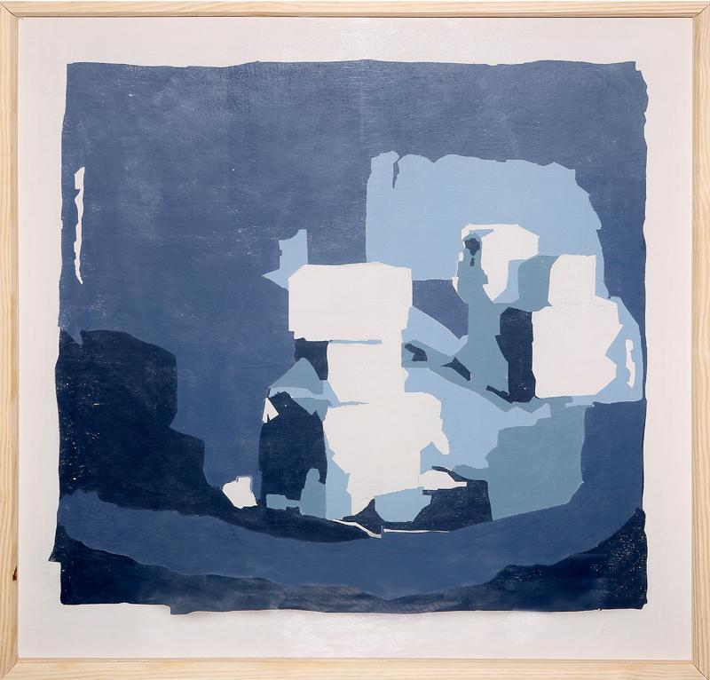 José Manuel Albarrán Pino - Serigrafía sobre lienzo 100 x 100 cm