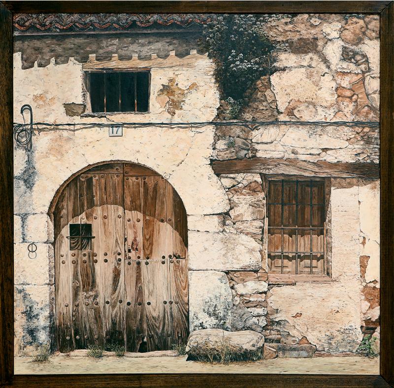 Mª Eugenia Prieto Baltasar - Óleo con espátula 80 x 80 cm