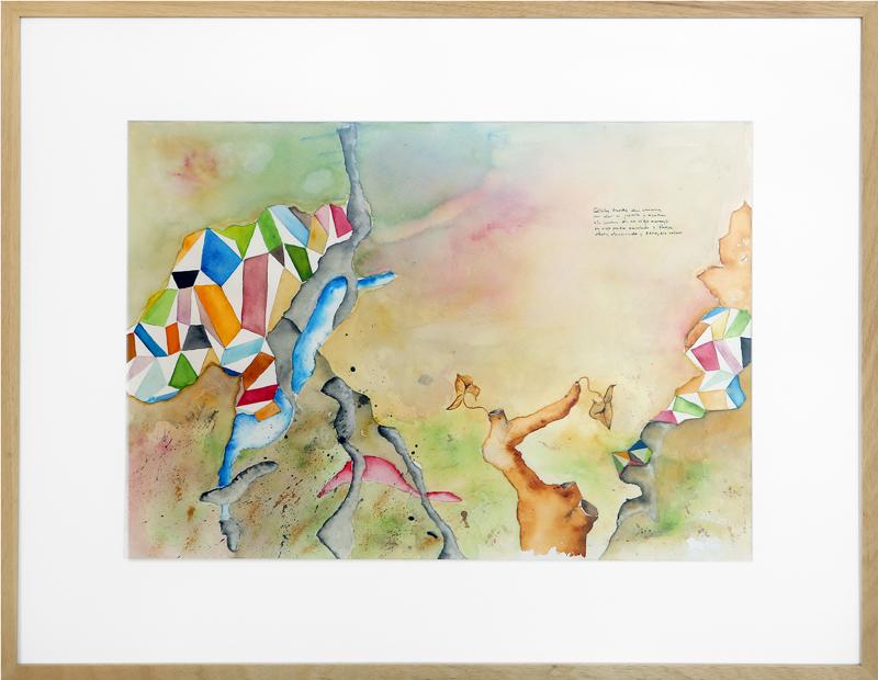 Felipe Jaraiz Castuera - Acuarela y tinta china 83 x 63 cm