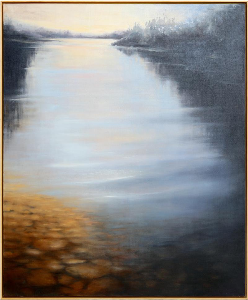 Manuel Carballeira Rivas - Óleo sobre lienzo 120 x 150 cm