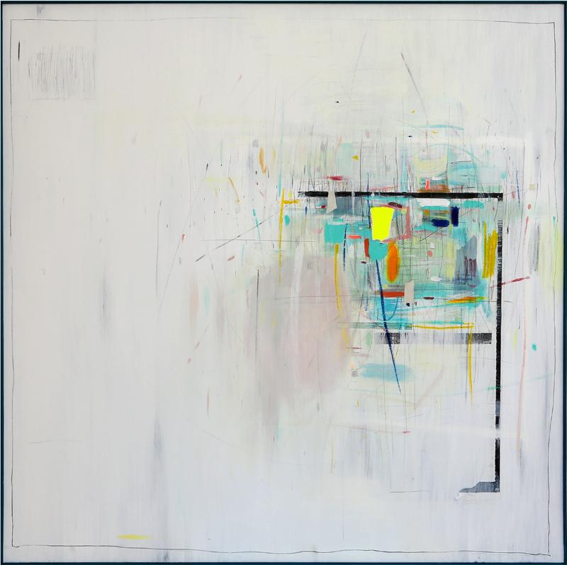 Carmen Jiménez Suero - Técnica mixta sobre tela 150 x 150 cm