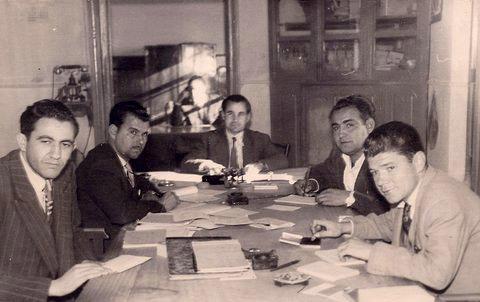 Electricistas. Años 60
