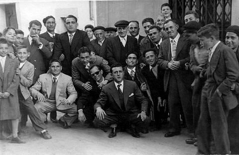 Amigos de fiesta año 1958