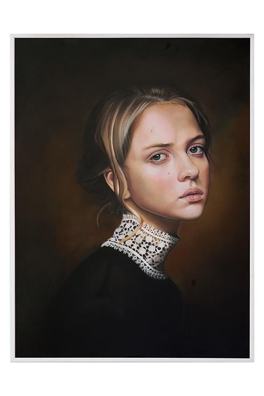 Eloísa Adamez Villar - Lápiz soft-pastel y barras pastel - 100 x 70 cm