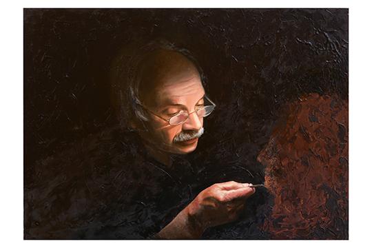 Milagros Peña Lozano - Óleo sobre madera - 81 x 61 cm