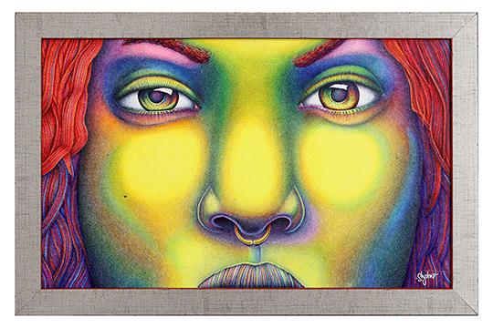 Sergio Escobar Shysko - Mixta - 65 x 45 cm
