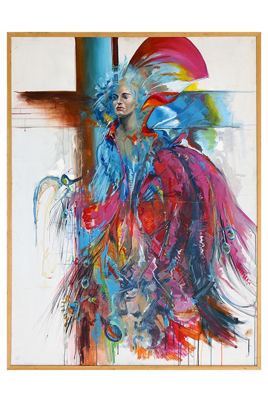 Emilio Pérez - Acrílico sobre lienzo - 130 x 97 cm