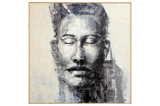 Guillermo Ferri Soler - Acrílico sobre tabla - 150 x 150 cm