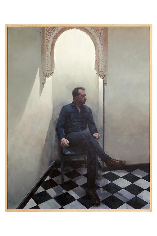 Francisco Escalera González - Mixta sobre lienzo - 146 x 114 cm